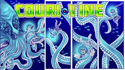 COURI VINE KickStarter for Books 3 & 4 in Print